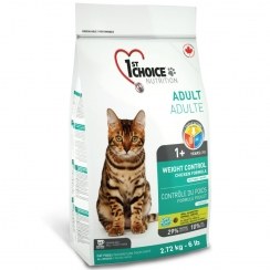 1st Choice Cat Adult Weight Control Formula