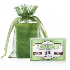 Natural Dog Company Spruce Up Pup Organic Shampoo Bar - 4oz (115 g) / 6oz (170 g)