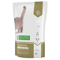 Nature's Protection Neutered Cat Food (Buy 400g with extra 400g)