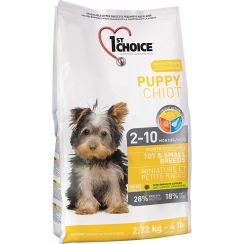 1st Choice Puppy Growth Toy & Small Breeds