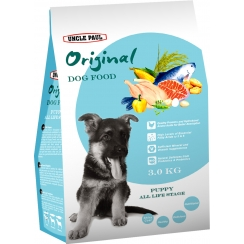 Uncle Paul Original Dog Food Puppy All Life Stages
