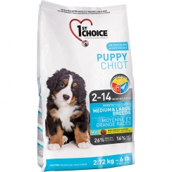 1st Choice Puppy Growth Mediun & Large Breeds