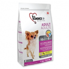 1st Choice Adult Toy & Small Breeds Healthy Skin & Coat