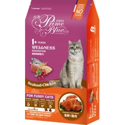 LCB Prime Blue Wellness Cat Food - Seafood & Chicken Recipe