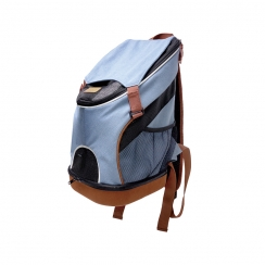 Ibiyaya Denim Fun Light Weight Pet Backpack