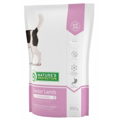 Nature's Protection Junior with Lamb Dog Food